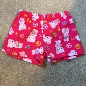 Hello kitty pajama shorts, summer PJ's